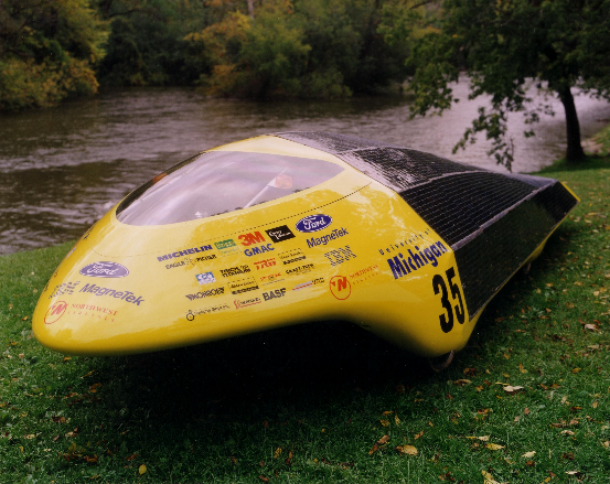 Maize & Blue: 1993 University of Michigan Solar Car